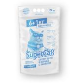 Древесный наполнитель для кошачьего туалета Super Cat Стандарт Белый
