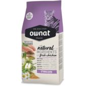 Сухой корм для кошек Ownat Classic Sterilized