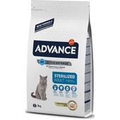 Сухой корм для кошек Advance Sterilized Adult