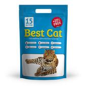 Силикагелевый наполнитель для кошачьего туалета Best Cat Blue