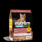 Сухой корм для котят Nutram S1 Sound Balanced Wellness Kitten
