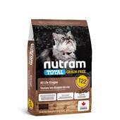 Сухой корм для кошек Nutram T22 Total Grain-Free All Life Stages Chiken & Turkey