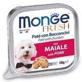 Влажный корм для собак Monge Fresh Pork