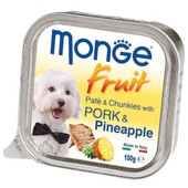 Влажный корм для собак Monge Fruit Pork & Pineapple