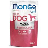 Влажный корм для собак Monge Grill Beef