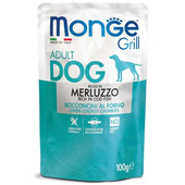 Влажный корм для собак Monge Grill Cod Fish