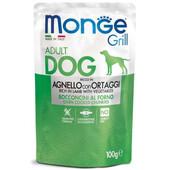 Влажный корм для собак Monge Grill Lamb & Vegetables