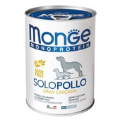 Влажный корм для собак Monge Monoprotein Chicken