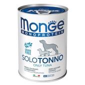 Влажный корм для собак Monge Monoprotein Tuna