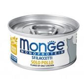 Влажный корм для кошек Monge Monoprotein Flakes Of Only Chicken