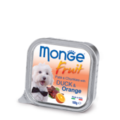 Влажный корм для собак Monge Fruit Duck & Orange