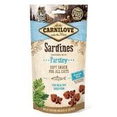 Лакомство для чувствительного пищеварения кошек Carnilove Sardine with Parsley For Healthy Digestion