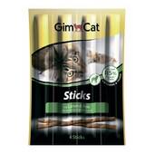 Лакомство для кошек GimCat Sticks Lamm & Rice