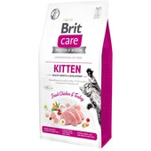 Сухой корм для котят Brit Care Grain-Free Kitten Healthy Growth & Development Fresh Chicken & Turkey