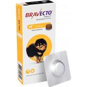 Жевательная таблетка от блох и клещей Bravecto для собак весом от 2 до 4,5 кг