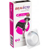 Жевательная таблетка от блох и клещей Bravecto для собак весом от 40 до 56 кг