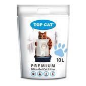 Силикагелевый наполнитель для кошачьего туалета Тop Cat Premium