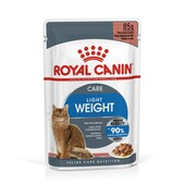 Влажный корм для кошек Royal Canin Light Weight Care мелкие кусочки в соусе