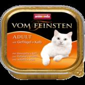 Консерва для кошек Animonda Vom Feinsten Adult с домашней птицей и телятиной