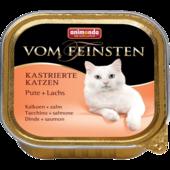Консерва для кошек Animonda Vom Feinsten Adult Kastrierte Katzen с индейкой и форелью