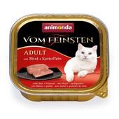 Консерва для кошек Animonda Vom Feinsten Adult с говядиной и картофелем