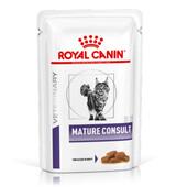 Лечебный влажный корм для кошек Royal Canin Mature Consult (кусочки в соусе)