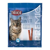 Лакомство для кошек Trixie Premio Stick Quintett (лосось и форель)
