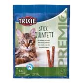 Лакомство для кошек Trixie Premio Stick Quintett (домашняя птица и печень)
