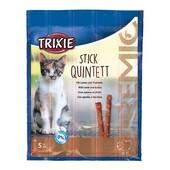 Лакомство для кошек Trixie Premio Stick Quintett (ягненок и индейка)