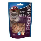 Лакомство для кошек Trixie Premio Ducky Hearts (утка и рыба)