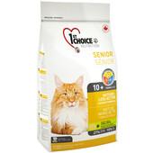 Сухой корм для котов 1st Choice Senior Mature Less Active